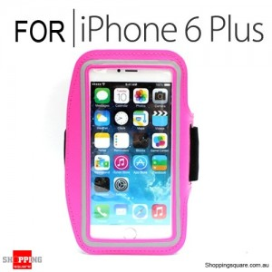Sports Armband Case for iPhone 6 Plus/6S Plus 5.5 inches Pink Colour