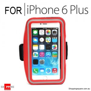 Sports Armband Case for iPhone 6 Plus/6S Plus 5.5 inches Red Colour