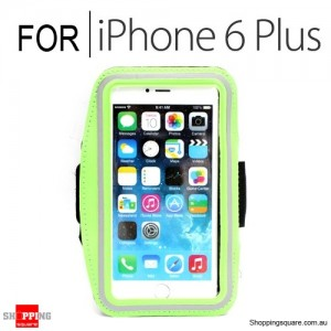 Sports Armband Case for iPhone 6 Plus/6S Plus 5.5 inches Green Colour