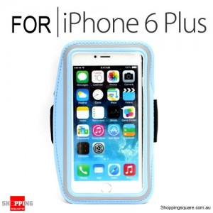 Sports Armband Case for iPhone 6 Plus/6S Plus 5.5 inches Light Blue Colour