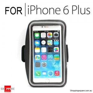 Sports Armband Case for iPhone 6 Plus/6S Plus 5.5 inches Black Colour