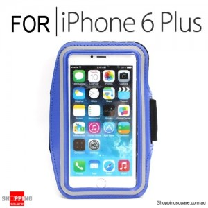 Sports Armband Case for iPhone 6 Plus/6S Plus 5.5 inches Blue Colour