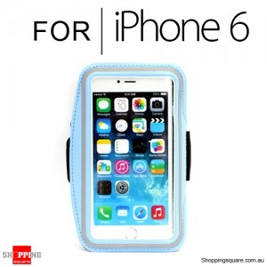 Sports Armband Case for iPhone 6S/6 4.7 inches Light Blue Colour