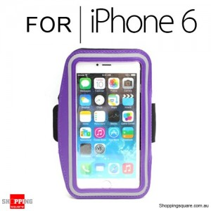 Sports Armband Case for iPhone 6S/6 4.7 inches Purple Colour