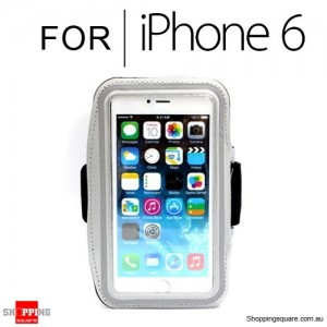 Sports Armband Case for iPhone 6S/6 4.7 inches Silver Colour