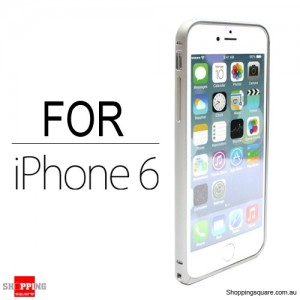 Slim Aluminum Bumper Frame Case for iPhone 6S/6 4.7 inches Silver Colour