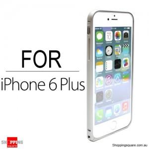 Slim Aluminum Bumper Frame Case for iPhone 6 Plus/6S Plus 5.5 inches Silver Colour