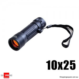 Monocular Spotting Scope Adjustable Telescope 10x25
