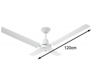 Heller Angus 1200mm 4 Blade Aluminium Ceiling Fan