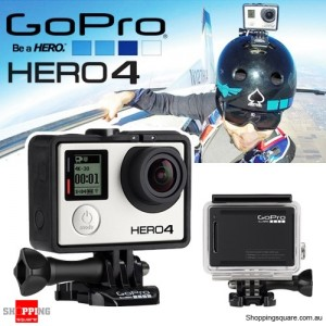 GoPro HERO4 Camera Black Edition Helmet Video Camera 4K 1080P