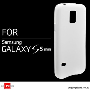 Slim Soft Gel Case Cover for Samsung Galaxy S5 Mini Clear Colour