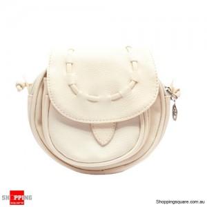 Lady Mini Bag Handbag Leather Shoulder White Colour