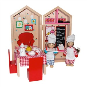 My Cafe Busy Box Kids Wooden Playset