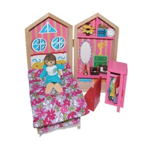 My Bedroom Busy Box Kids Wooden Playset