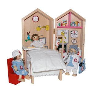 My Hospital Busy Box Kids Wooden Playset