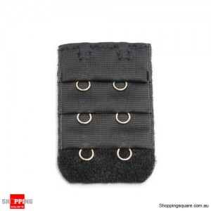 Bra Extenders 2 Hooks Black Colour