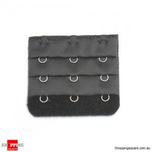 Bra Extenders 3 Hooks Black Colour