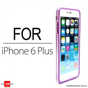 Soft Bumper Case for iPhone 6 Plus/6S Plus 5.5 inches Purple Colour