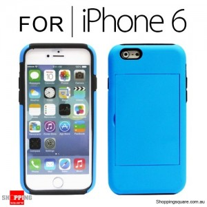New Card Case Cover for iPhone 6S/6 4.7 inches Blue Colour