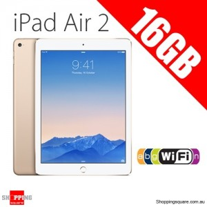 Apple iPad Air2 16GB 9.7inch Wifi Tablet Gold