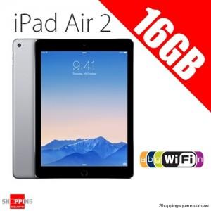Apple iPad Air2 16GB 9.7inch Wifi Tablet Grey