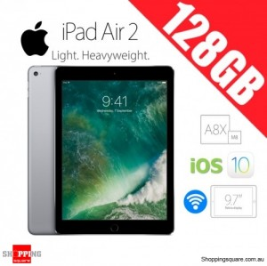 Apple iPad Air 2 128GB 9.7inch WiFi Tablet Space Gray
