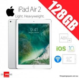 Apple iPad Air 2 128GB 9.7inch WiFi Tablet Silver