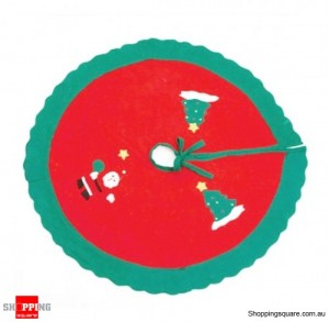 87cm Diameter Christmas Tree Skirt for Decoration
