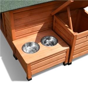 Luxury Wooden Dog Kennel