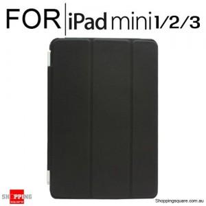 iPad Mini 1/2/3 Smart Stand Hard Cover Case Black Colour