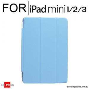 iPad Mini 1/2/3 Smart Stand Hard Cover Case Blue Colour