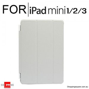 iPad Mini 1/2/3 Smart Stand Hard Cover Case Grey Colour