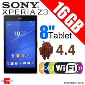 Sony Xperia Z3 16GB SGP611 WiFi 8'' Tablet Compact Black