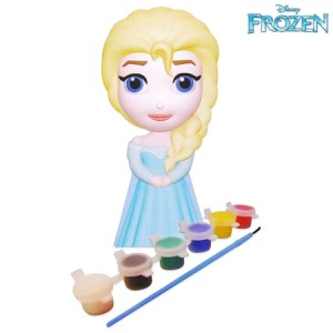 Disney Frozen Paint Your Own Elsa Make & Create Craft Doll Figurine