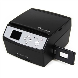 Photo and Film Negative Combination Scanner