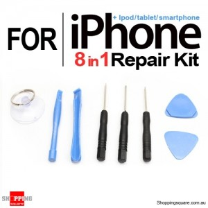 Professional 8 in 1 Disassembly Tools, Repair Kit for iPhone 6 6 Plus 5S 5C 5 4S