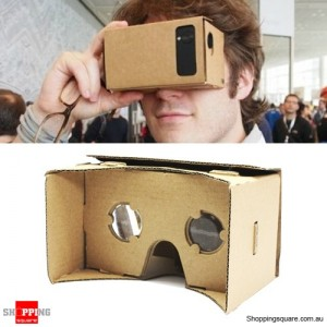 DIY 3D Virtual Reality Google Cardboard Glasses for Smartphone