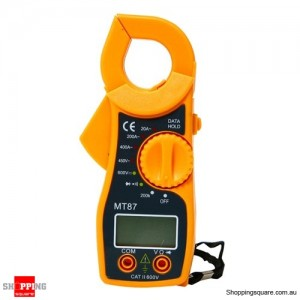 High Accurate AC DC Digital Multimeter Electronic Tester Clamp Meter