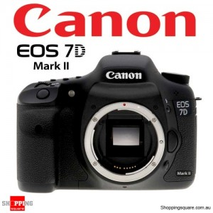 Canon EOS 7D Mark II Body Digital Camera Black