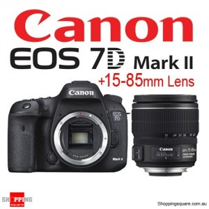 Canon EOS 7D Mark II with EF-S 15-85mm f/3.5-5.6 IS USM Lens Kit Set