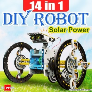 14 in 1 Solar Power DIY Assembly Robot Toy Kit