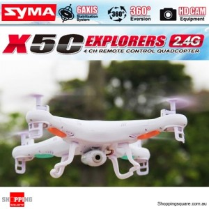 Syma X5C 2.4G 4CH RC Quadcopter HD 2MP Camera
