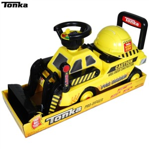 Tonka Pro Digger with Helmet Ride On Toy