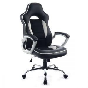Executive Ergonomic PU Leather Office Chair