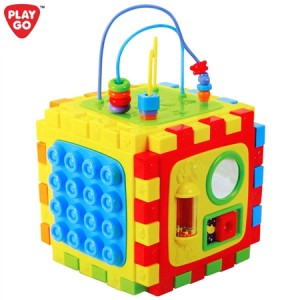 PlayGo Fun Activity Learning Cube