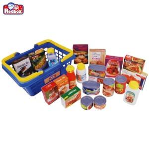 My Food Basket Set Kids Shopping Toy