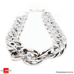 Fashion Jewelry Chain Pendant Necklace Silver Colour