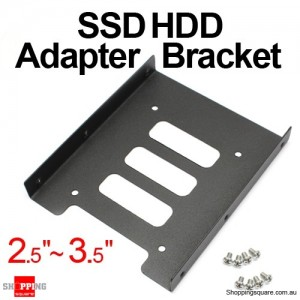 2.5 to 3.5 SSD HDD Adapter Bracket Mounting Kit