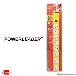 Powerleader L58015 8 Way Metal Power Surge Board