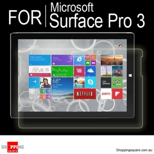 Screen Protector Clear for Microsoft Surface Pro 3 12""